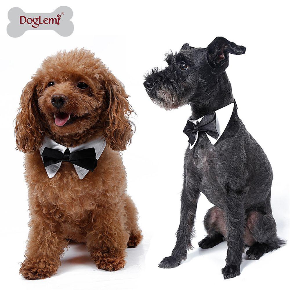 2017 Gentleman Dog Clothing Pet Supplies Cats Dog Tie Wedding ...
