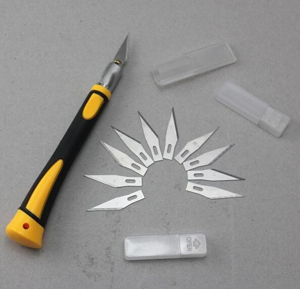 Livraison gratuite utile SL-1153S sculpture poignée avec SK5 lames bois sculpture outils sculpture couteau de gravure