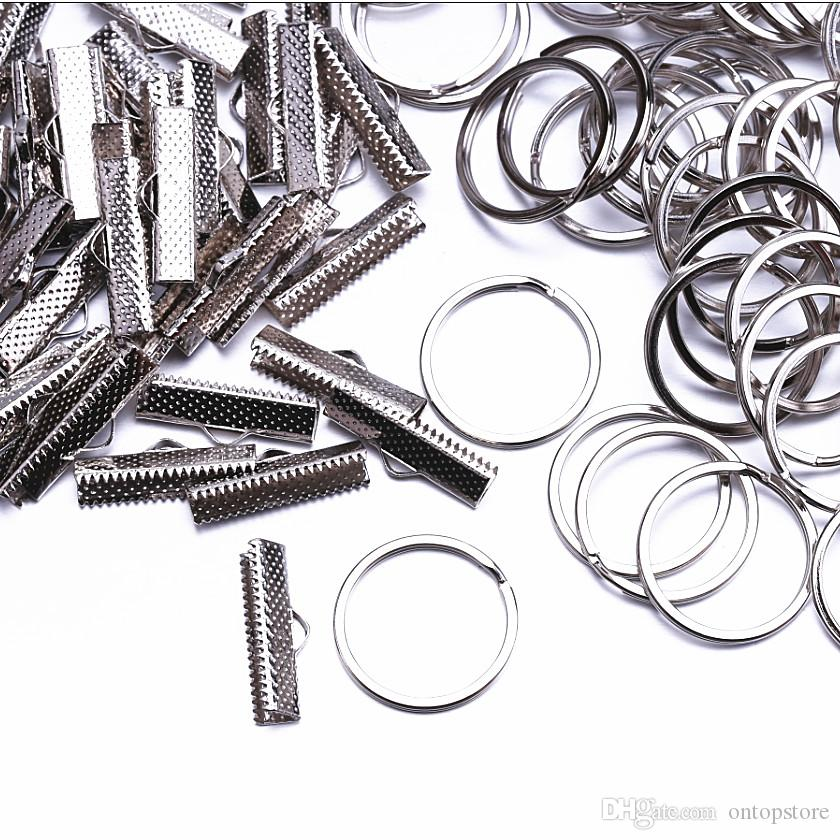 25mm Jewelry Findings & Components Connectors buckle Metal jewellery clip