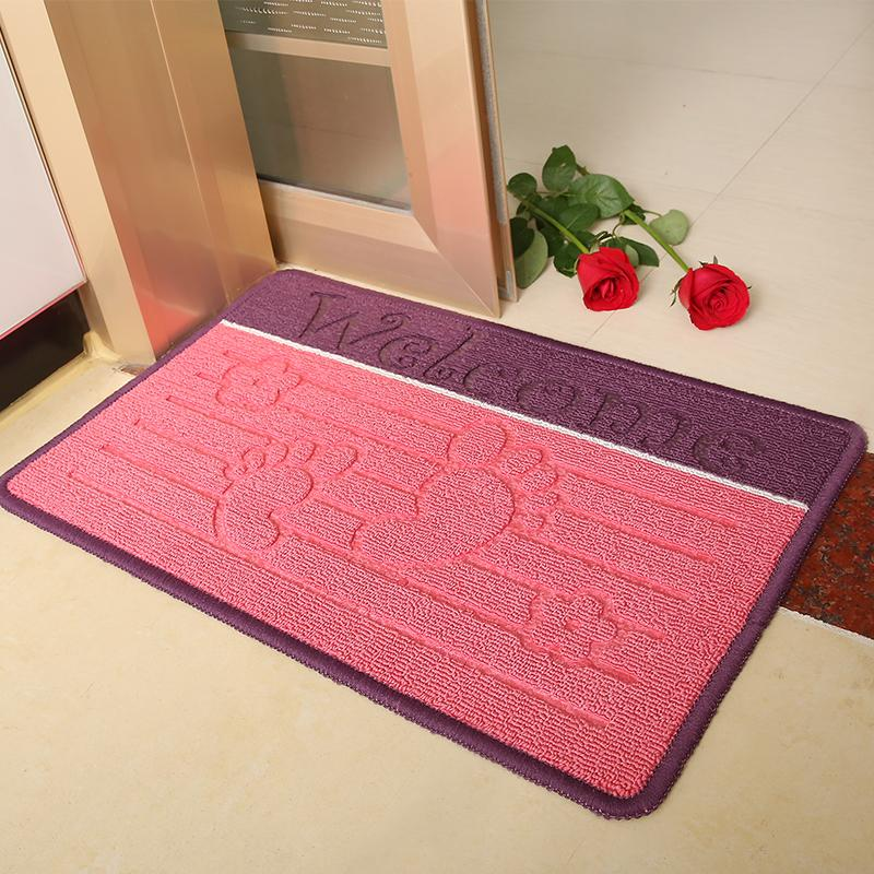 2018 Wholesale Soft Door MatCarpet KitchenFeet Shape Living Room Bedroom Bathroom Rugs And MatsWelcome Printing Anti Slip Entrance Carpets From Griffith ... & 2018 Wholesale Soft Door MatCarpet KitchenFeet Shape Living Room ...