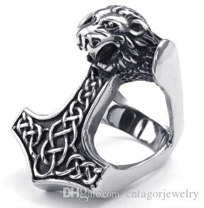 2014 Year New 316L Stainless Steel Casting Unique Lion Head Freemasonry Freemasons Symbol Rings SZ#8-13,Free and Accepted Masons