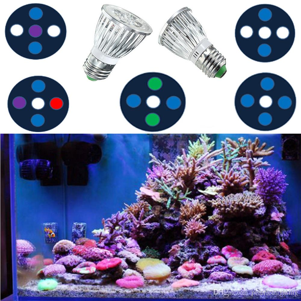 par 30 15w led aquarium lights full spectrum e27 led reef corals