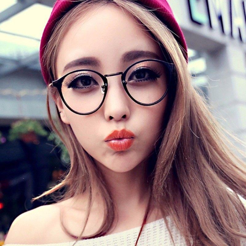 ba99a903f4 Wholesale- Fashion Men Women Retro Nerd Glasses Clear Lens Eyewear Unisex  Retro Eyeglasses Spectacles Glasses Iphone Spectacle Frame Spectacles  Goggles ...