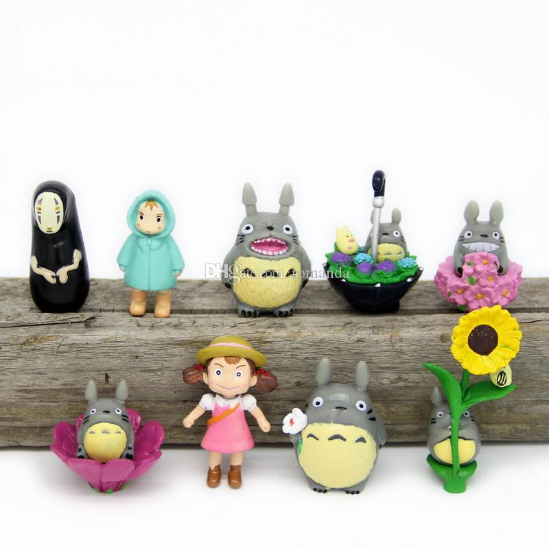 2018 Mini Girl Fairy Garden Figurines My Neighbor Totoro Miniatures Resin  Crafts Moss Micro Landscape Home Decorations From Romanda, $3.58 |  Dhgate.Com