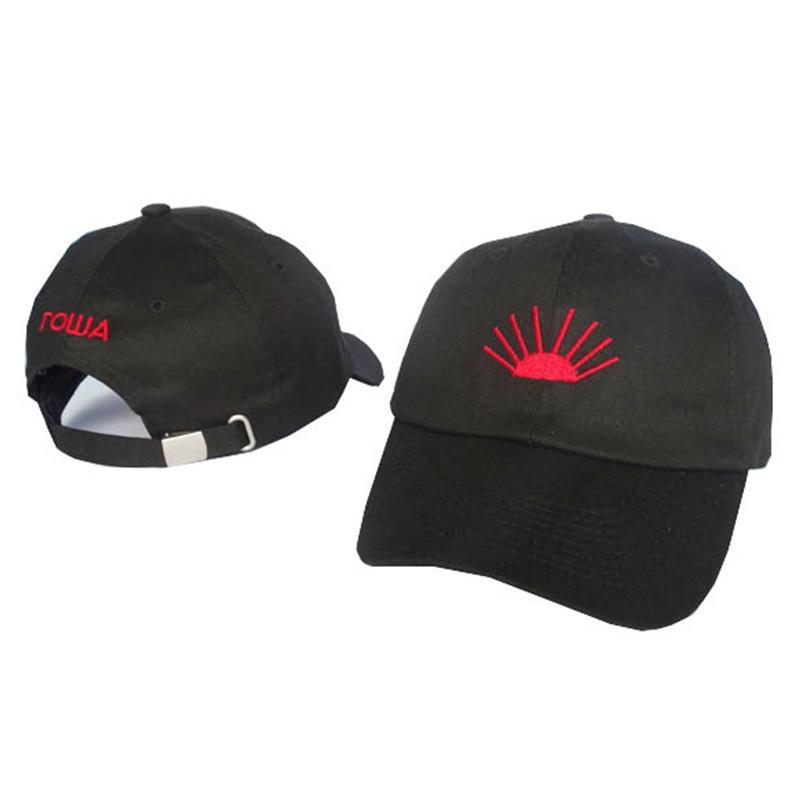 63af21aed1a Russia Snapback BaseBall Cap Gosha Rubchinskiy 6-Panel Cap Sun Hats ...