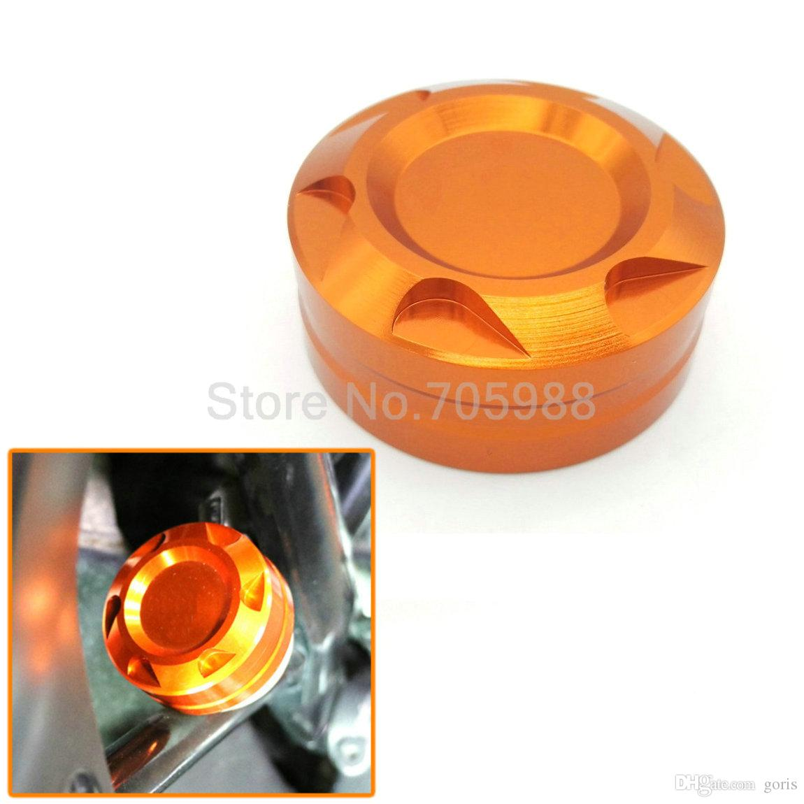 100% Aluminum CNC Motorcycle Engine Rear Fluid Reservoir Cap Cover for KTM 125 200 390