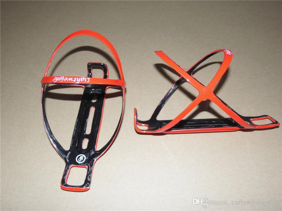 Full carbon fiber Black/White/Red UD Matte/UD Glossy 3 top sale models of Light Weight water bottle cages/holders