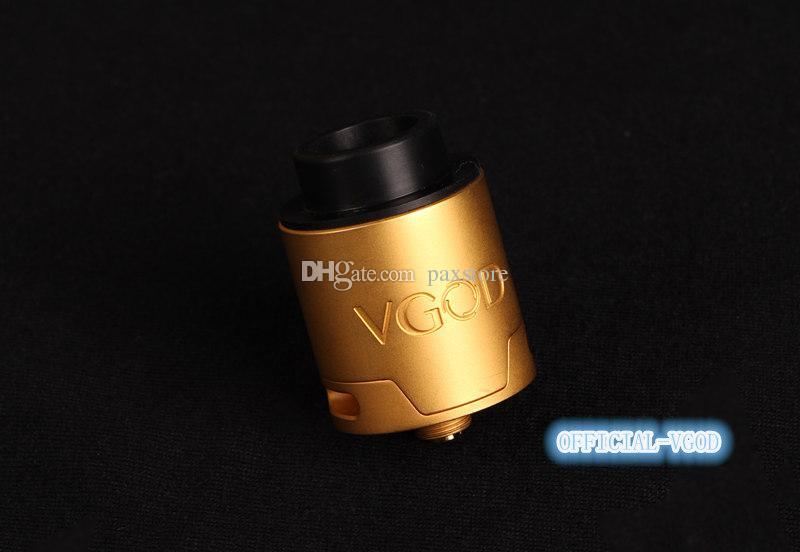 Orijinal VGOD Pro Damla RDA Tankı Dört Delik Hız Stil Güverte / Sonrası Doğrudan Alt Beraberlik Hava Akışı DHL ÜCRETSIZ