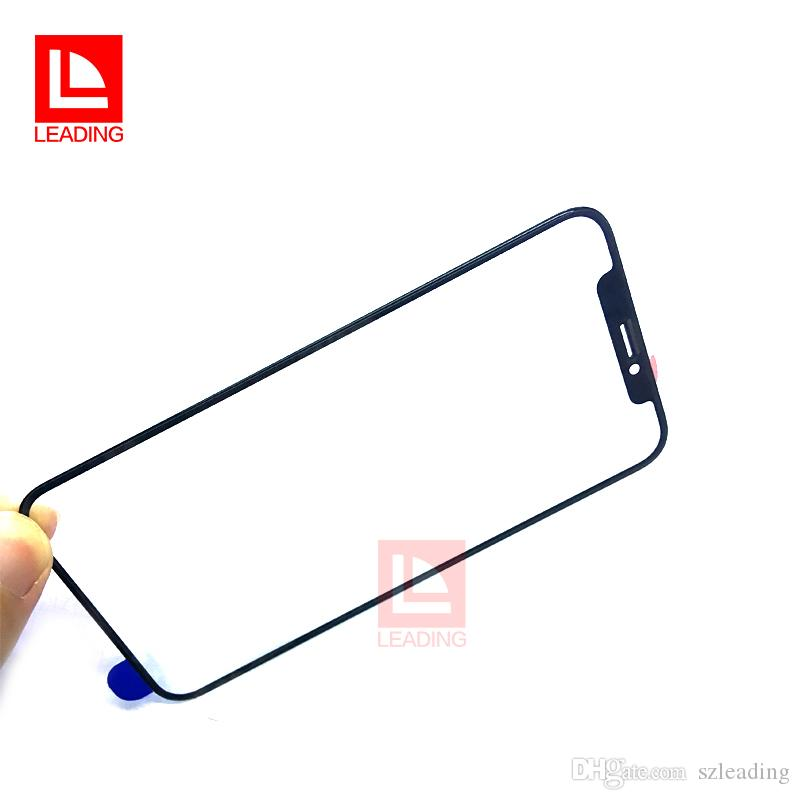 For iPhone X Front Touch Screen Panel Outer Glass Lens Screen Replacement Repair Part