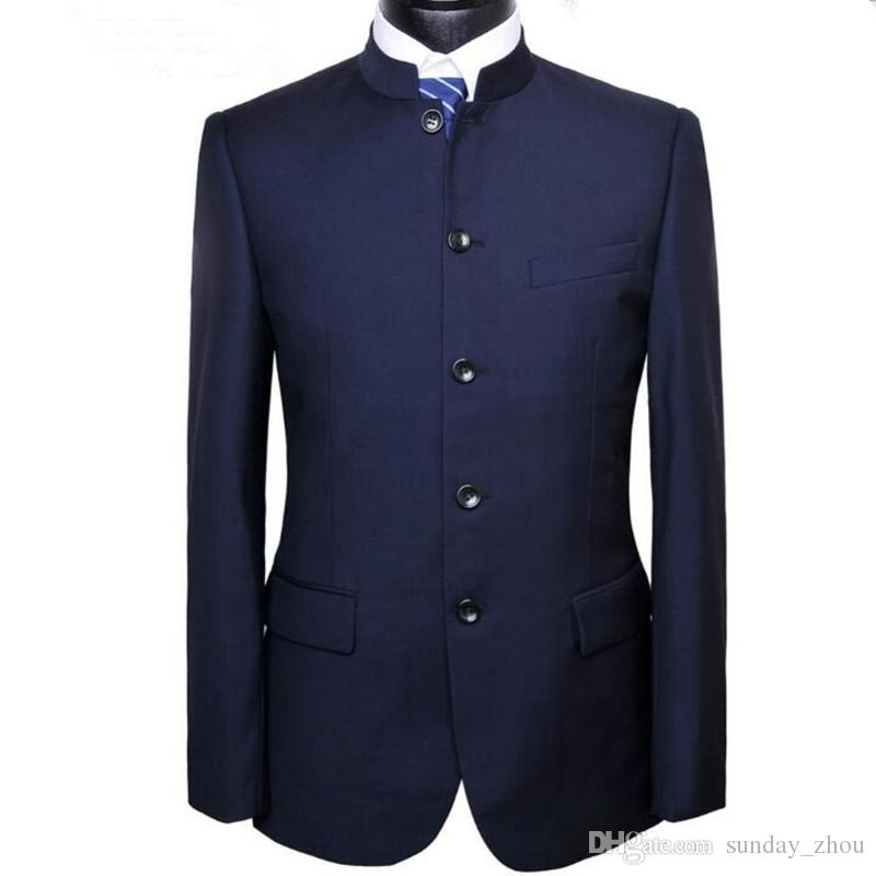 Cheap Mandarin Collar Suits For Men | Free Shipping Mandarin ...