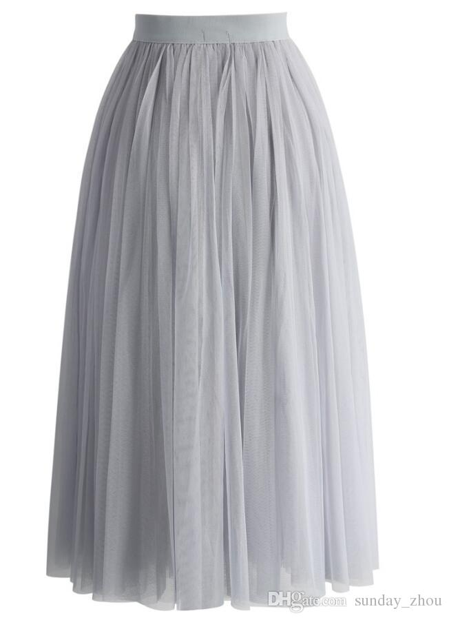 winter Fashion Skirts Knee Length Skirts Tutu Tulle Skirts For Women Beach Wear Cheap Dresses Party Evening Wear