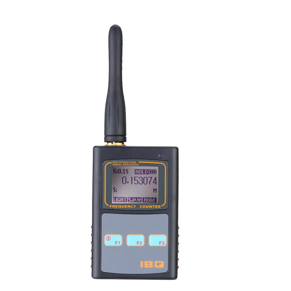 Freeshipping Handheld Digital LCD Frequency Counter with UHF Antenna 50MHz-2.6GHz for Two Way Radio