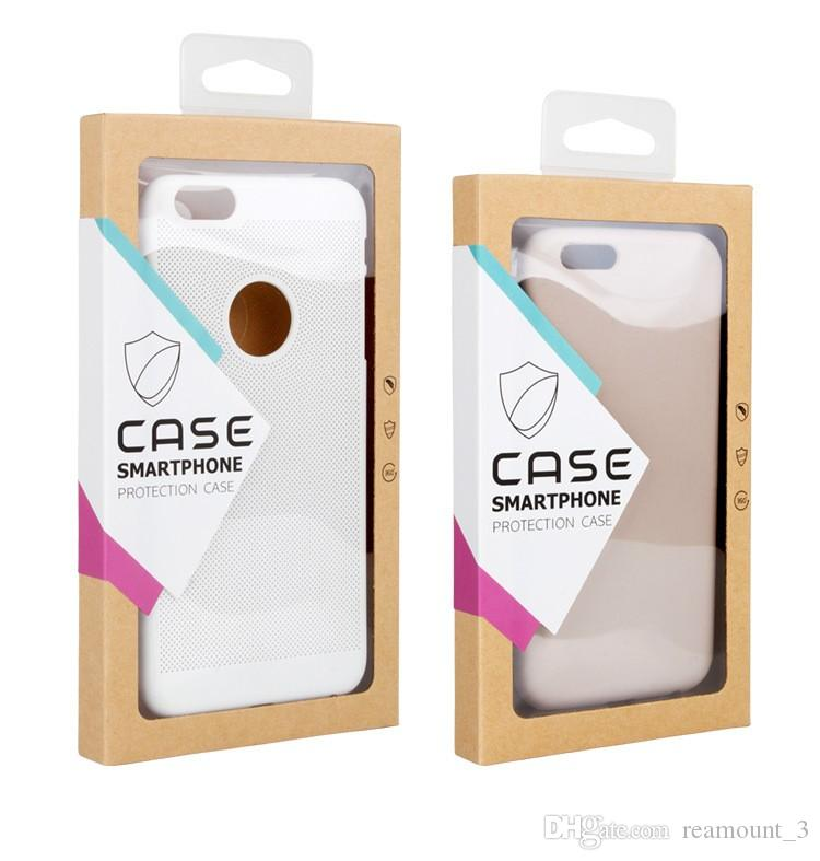 Wholesale Custom Retail Paper Package packaging box for iphone 6 flip cover for xiaomi redmi note 3 pro phone case