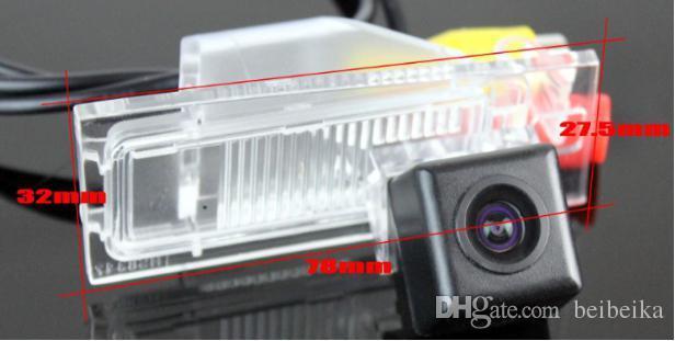 Macchina fotografica di retromarcia dell'automobile / macchina fotografica di parcheggio / CCD di RCA di HD NTST PAL / OEM leggero della targa di immatricolazione FIAT Ottimo 2014 2015