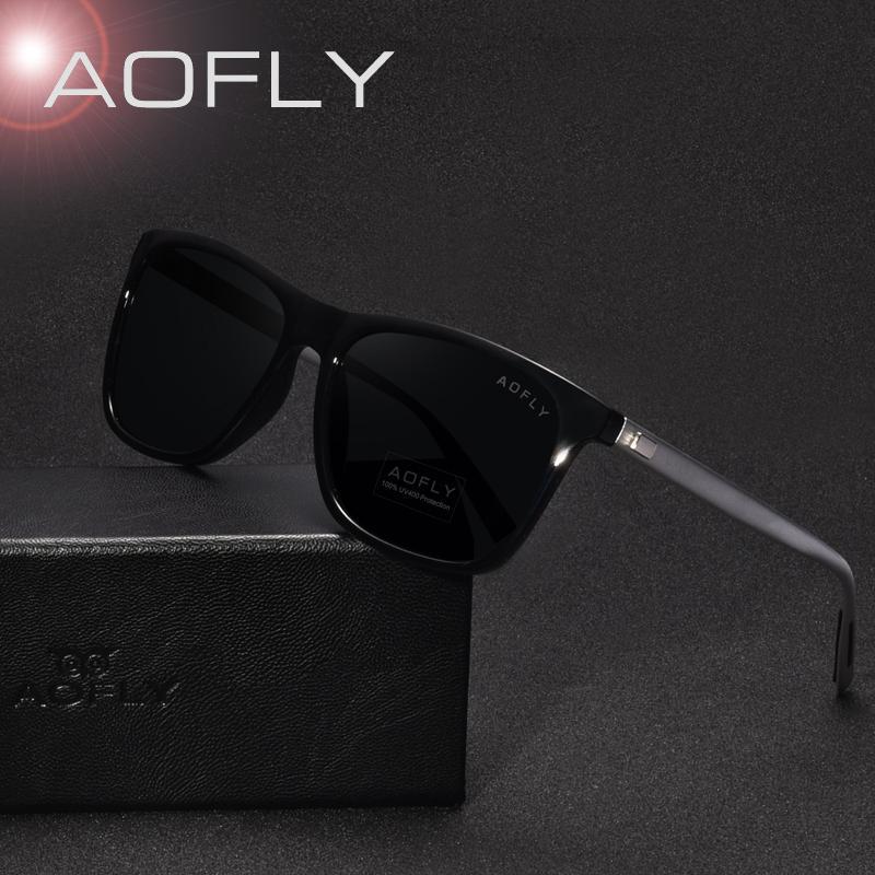 Hommes Design Style Femmes Gros Polarisées Oculos Lunettes Marque De Vintage Mode Classique Sol Pour Soleil Aofly TlJ3Kc5u1F