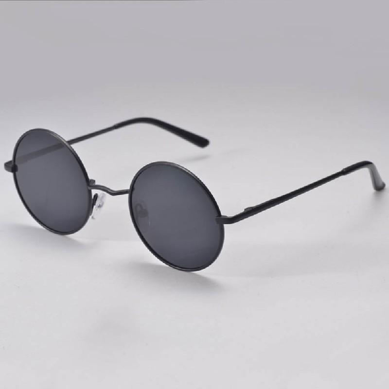 a17ff854ce07 Wholesale- New Hippie Women Men HD Sunglasses Retro Round Lens ...
