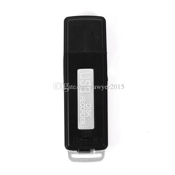 Mini 8GB USB Flash Drive voice recorder 4GB USB Disk Digital Audio Voice Recorder Portable Mini Recording Dictaphone