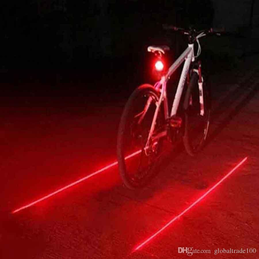 Online Cheap 2016 Hot Sale Bicycle Led Light 2 Lasers Night Mountain ...