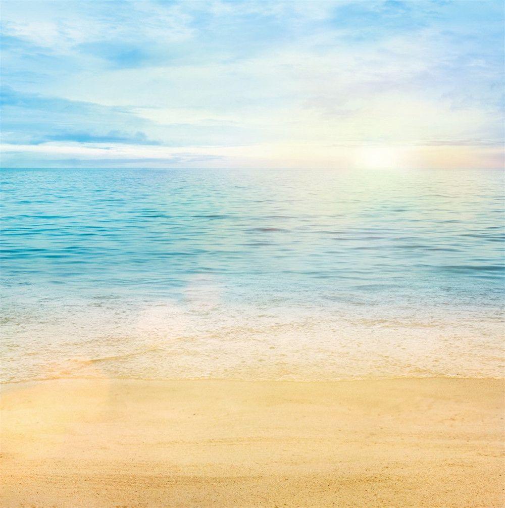2018 10ft beach photo studio backgrounds beautiful sunrise