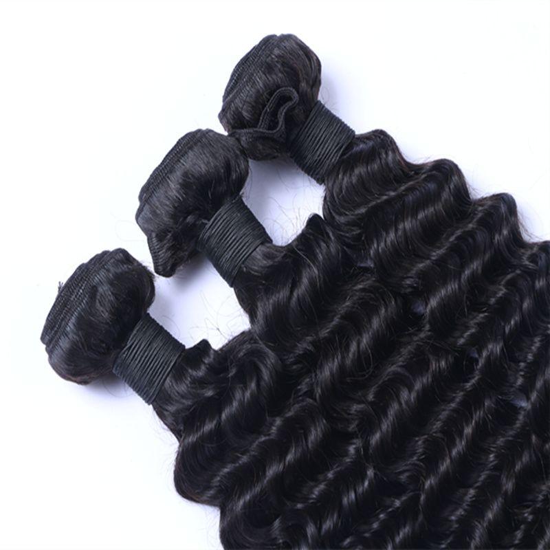 إزالة بيع بيرو البرازيلي الهندي الماليزي الشعر التمديد موجة عميقة 8-30 بوصة الإنسان لحمة الشعر اللون الطبيعي يمكن مصبوغ أومبير الشعر