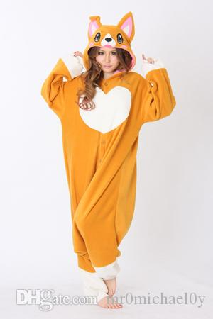 HappyBuy Corgi Dog Costume Adult Kigurumi Pajamas Animal Onesie Pajamas Women Cozy Fleece One Piece Pajamas Sleepwear Dog Costume Kigurumi Pajama Animal ...  sc 1 st  DHgate.com & HappyBuy Corgi Dog Costume Adult Kigurumi Pajamas Animal Onesie ...