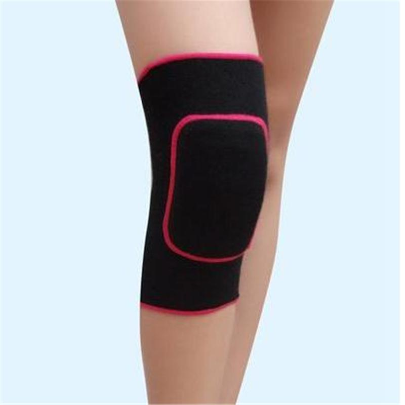 Wholesale- adults and kids 5 mm sponge sports knee pads Volleyball Tennis training knee support child dancing knee protector 5 color 4 size