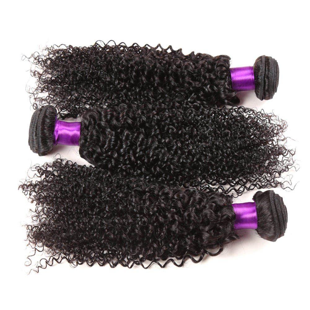 Grade 7A Brazilian Curly Virgin Hair Human Hair Weave 2/3/4/ Bundles Best Unprocessed Virgin Brazilian Kinky Curly Hair Extensions
