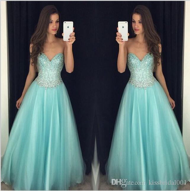 Милая линия платья выпускного вечера молния назад длинные платья выпускного вечера бисером блестками вечерние платья платье
