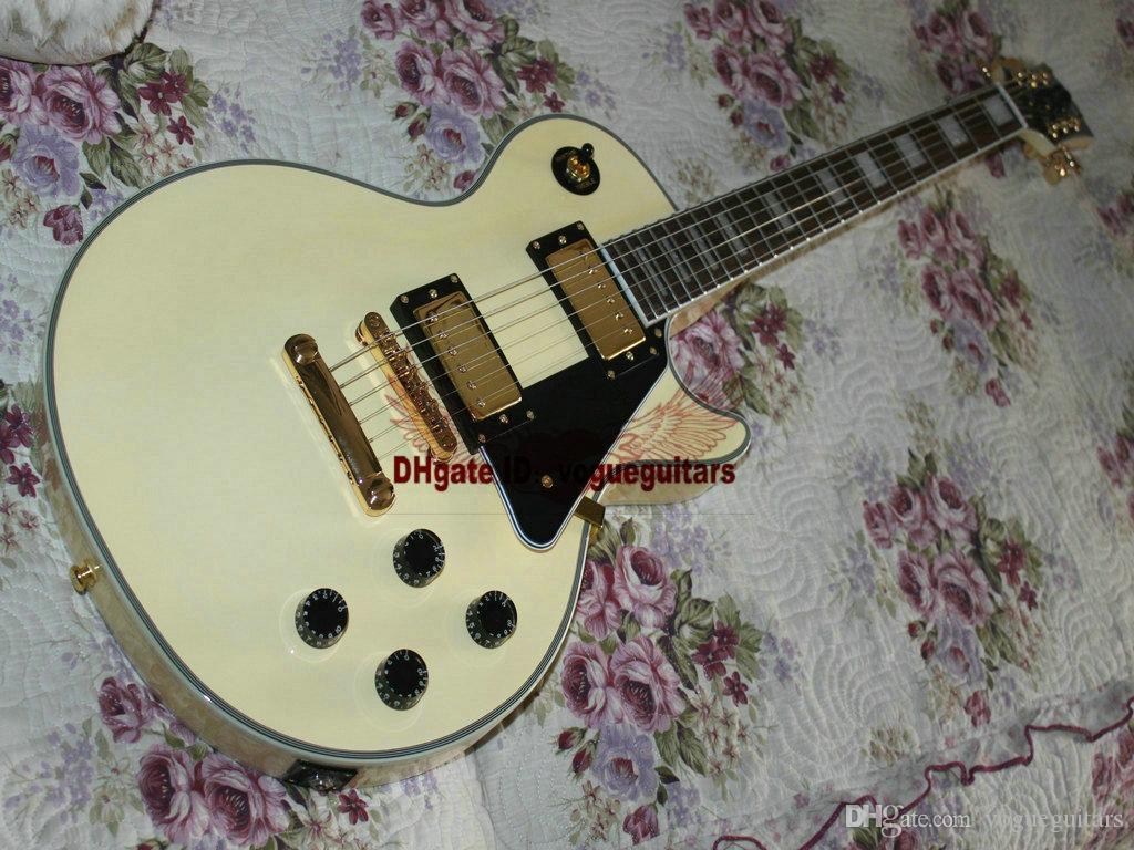 Instruments de musique Top Custom Crème VOS Electric Guitar A456
