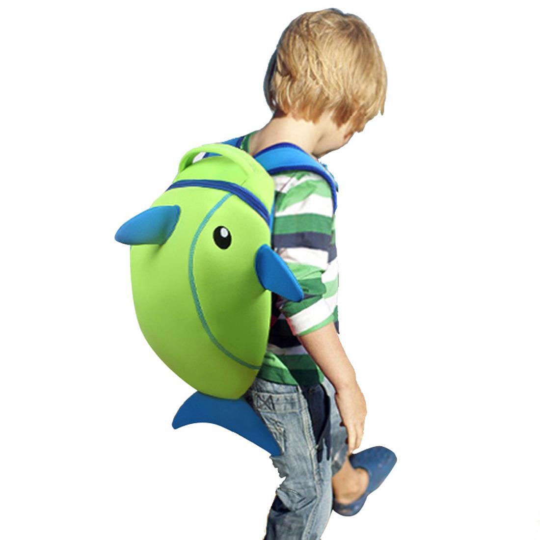 e4ca7782f542 Waterproof School Bags NOHOO Mochila Neopreno Kids Backpack Cartoon Animal Children  School Bags For Girls Boys Toddler Baby Bag Preschool Backpacks ...