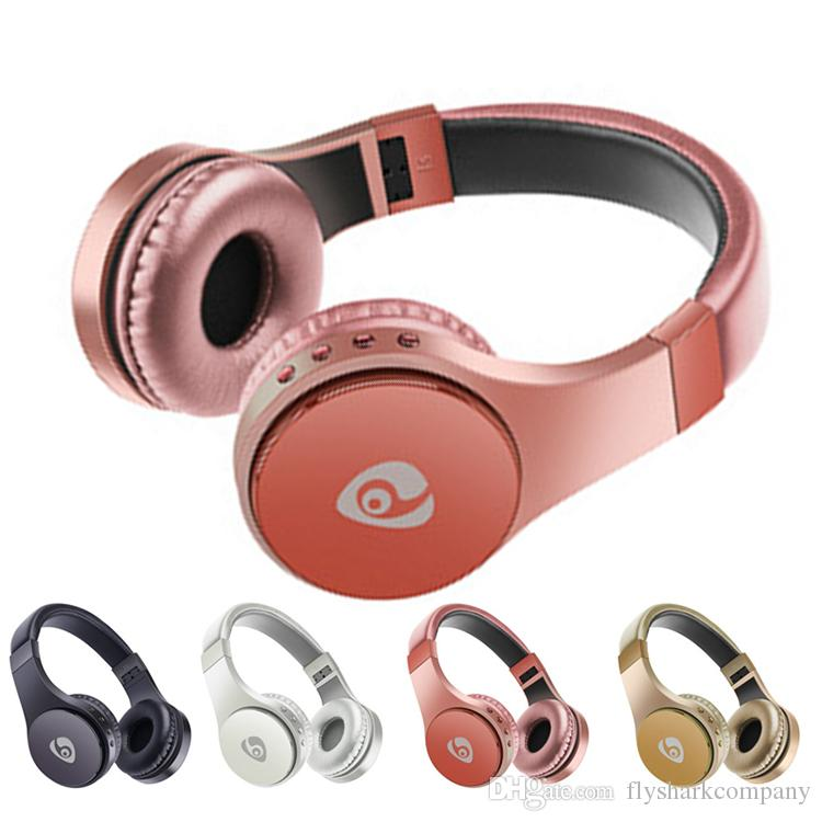 Bluetooth Wireless Headphone S55 Wearing headphones With TF FM earphone head-mounted Foldable Headset With retail box For iphone Smasung