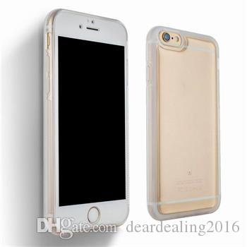 2017 Fashion Wholesale Transparent Anti Gravity Magical Nano Sticky TPU Case Cover For iPhone 6 6S Plus 7 7 Plus 5S