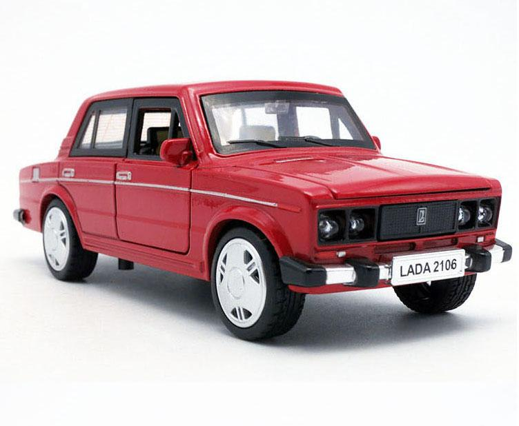 2017 russia lada diecast 15cm model car vintage metal car kids boys gift toys with openable doorpull back function for baby gifts from love4love