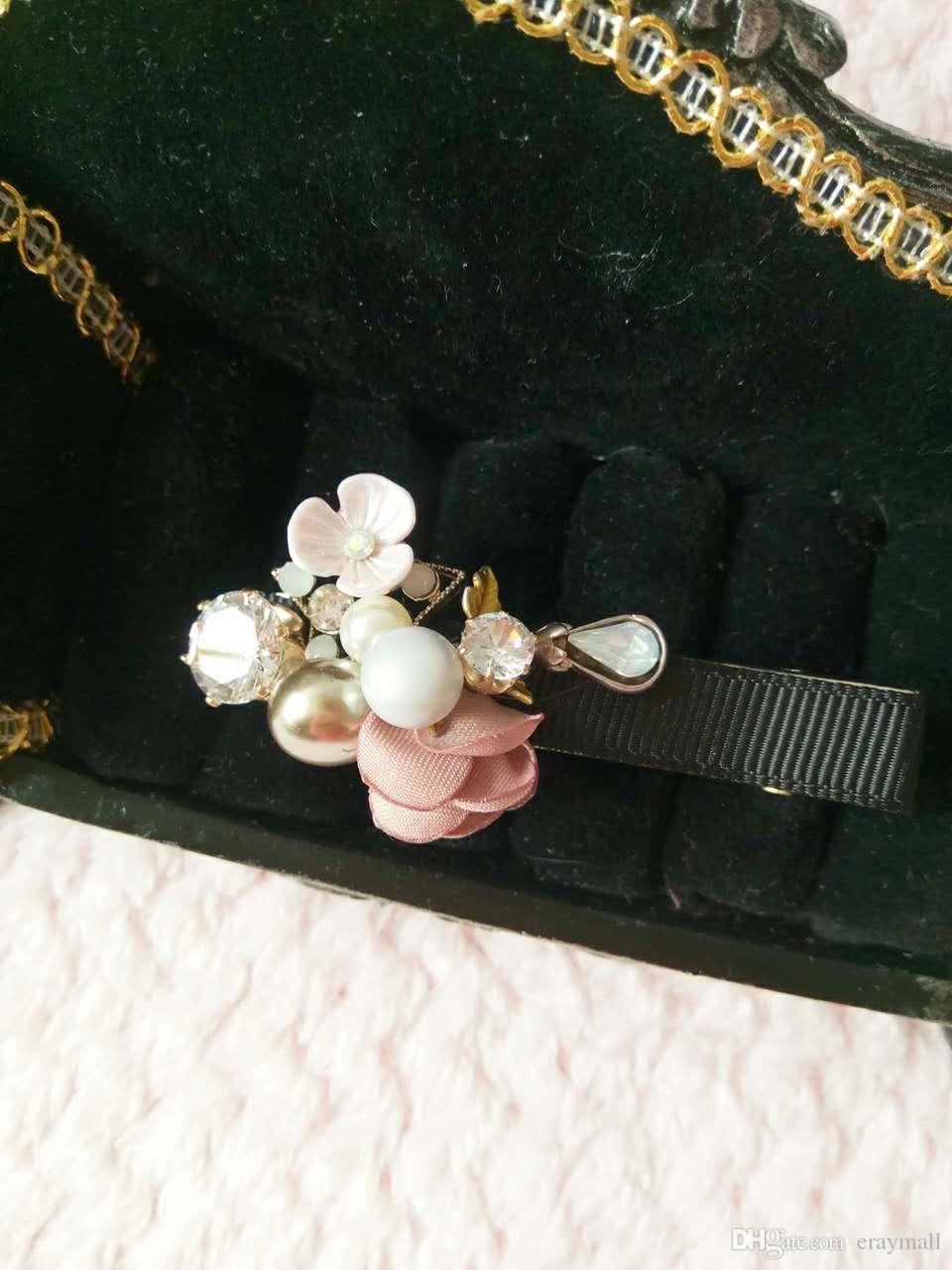 Korean Style Hairpins for Women Girls Bobby Pins New Fashion Hair Clips Barrette Wedding Hair Accessories Flower Headband Hair Bow Jewelry