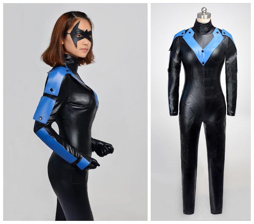 Batman Arkham City Woman Nightwing Cosplay Halloween Costumes Anime And Cosplay Anime Costume For Boys From Hosiyoubi $148.75| Dhgate.Com & Batman Arkham City Woman Nightwing Cosplay Halloween Costumes Anime ...