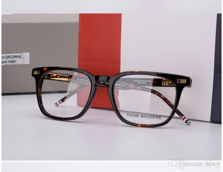 Homens Mulheres óptica acetato prescrição espetáculo Quadrado tb402 TB-402 Miopia Óculos de Armação Óculos Óculos TB-402A eyewear
