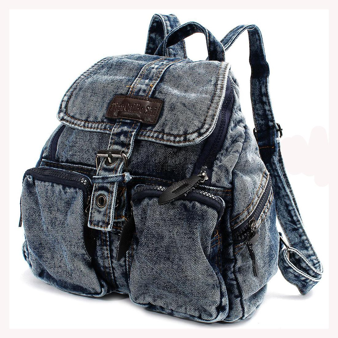 40df80fe0572 Wholesale TEXU Women Backpack Vintage Denim Backpacks For Teenage Girls  Casual School Campus Bags Travel Backpack Women Bag Swiss Gear Backpack  Osprey ...