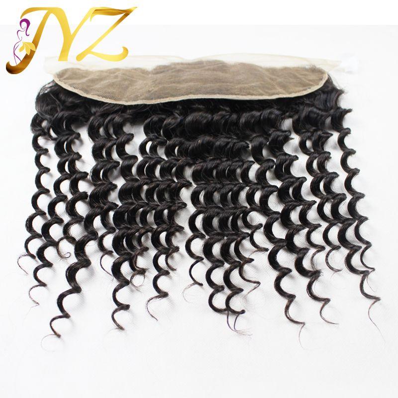 Perulu Bakire Saç ile frontal İnsan saç demetleri ile dantel frontal en kaliteli insan saçı perulu derin dalga kulağa kulak cepheleri ile