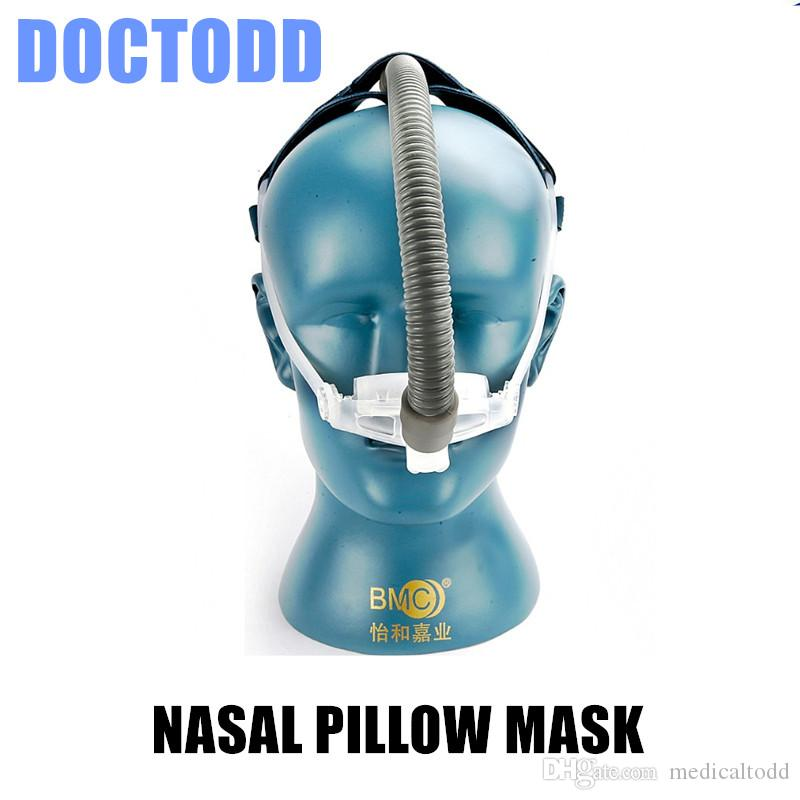 doctodd nasal pillows cpap auto cpap bipap mask for sleep apnea osahs osas snoring people with headgear size s m l anti snoring snoring in sleep snoring