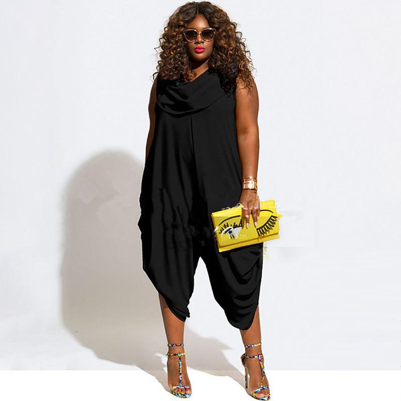 wholesale- europe and the united states plus size jumpsuits and