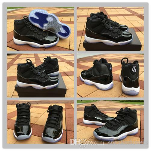 With Box 2017 Space Jam 11 Basketball Shoes For Women   Men b1c68d0f0daf