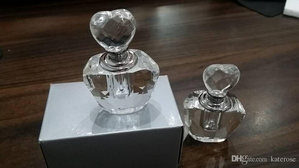 100 unids / lote Favores de la ducha nupcial K9-crystal Perfume Crystal Botella Perfume Regalo del regalo de la fiesta del favor de la boda para el huésped + ENVÍO GRATIS