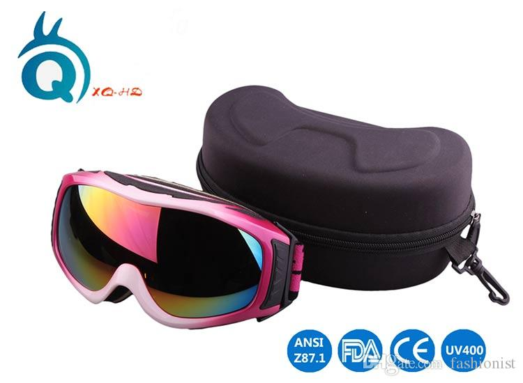 Skiing Glass Brand UV400 Protection Outdoor Sports Snowboard Skate Goggles Safety Eyewear Coating Sunglasses Lens Military glasses Gift