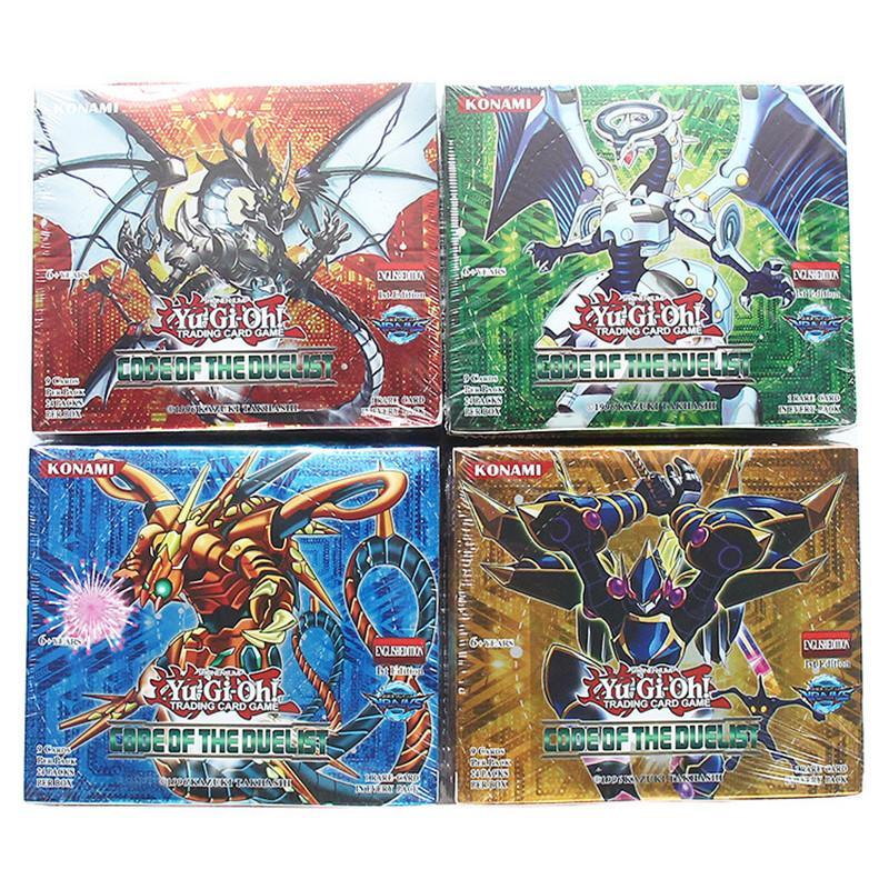 Großhandel 216 Stück / 1 Los Yugioh Spiel Karten Papier Spielzeug ...