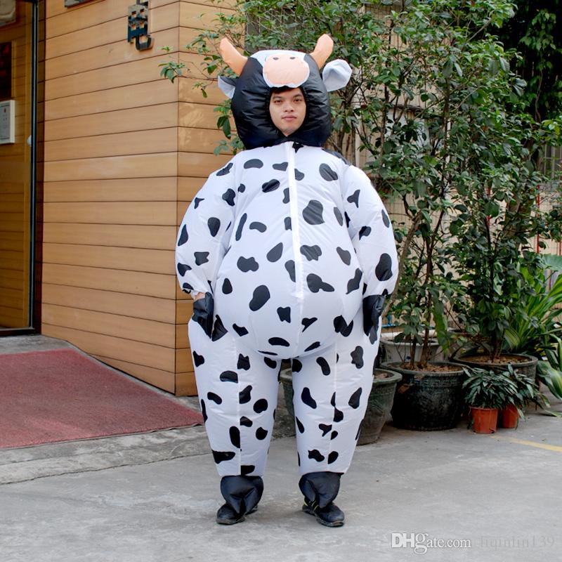 see larger image - Halloween Costume Cow