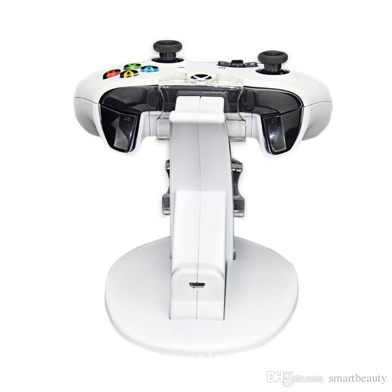 DC 5V Dual Controller Charging Dock Station Charger Stand for Microsoft Xbox One S Xbox One Slim Controller