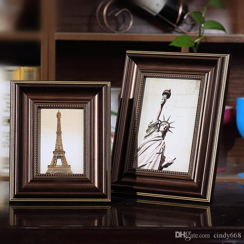 2018 Desktop Table Top Decor Photo Frames Home Decor Wall Picture Album Art  Picture Frame Best Gift For Birthday Photo Frames From Cindy668, $6.21 |  Dhgate.