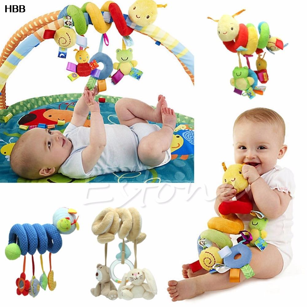 2018 Wholesale Activity Spiral Stroller Car Seat Travel Lathe Hanging Toys Baby Rattles Toy From Toyshome 4094