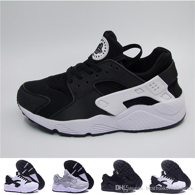 New Air Huarache Triple Black Red White Set Breathable Premium Men Women  Ultra Running Shoes Best Quality Huaraches Euro Size 36 45 Stability  Running Shoes ...