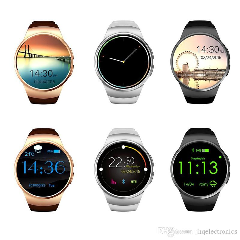 Kw18 Smart Watch Smartwatch For Iphone 7 With Sim Card ...